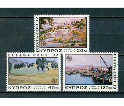 GÜNEY KIBRIS ** 1977 EUROPA CEPT TAM SERİ (250315)