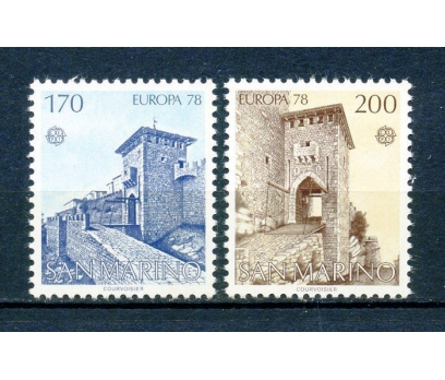 SAN MARİNO ** 1978 EUROPA CEPT TAM SERİ (250315)