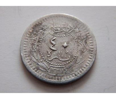 Sultan Mehmet Reşat Nikel 40 Para