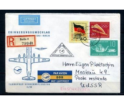 DDR 1960 UÇAK ÖZEL DAMGA TAAHHÜTLÜ SÜPER (090415)