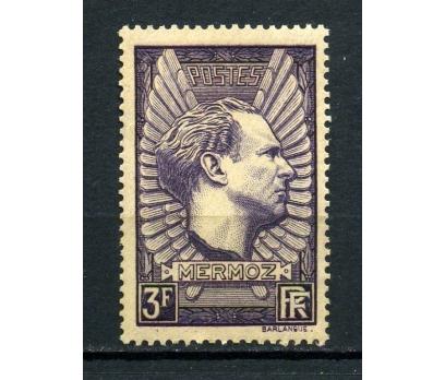 FRANSA ** 1937 PİLOT J.MERMOZ  2.VALÖR  (030415)