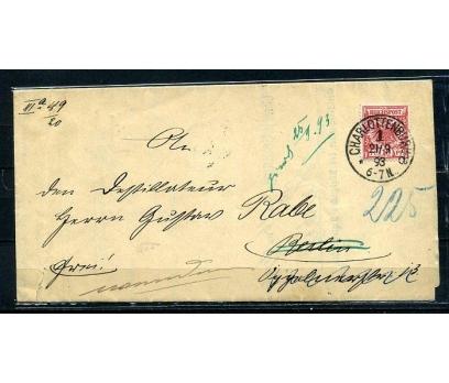 REİCH 1893 KLASİK POSTADAN G.ZARF (080415)