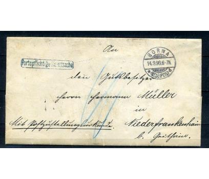 REİCH 1898 KLASİK POSTADAN G.BAĞDADİ ZARF (080415)