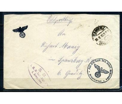 REİCH 1917 KLASİK POSTADAN G.ZARF (080415)