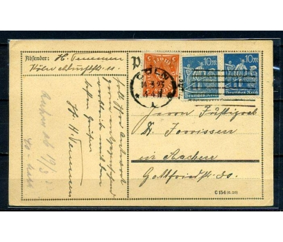 REİCH  1923 POSTADAN GEÇMİŞ ANTİYE (070415)