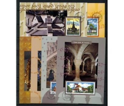 İSVEÇ 1997 KİLİSELER TAM SERİ 6 KARTMAX (040515)