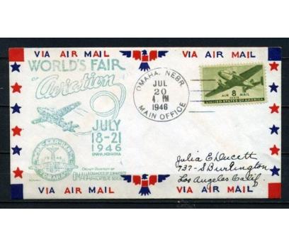 ABD 1946 Ö.D. İLK UÇUŞ SÜPER (150515)