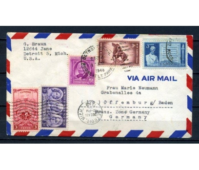 ABD 1948 PGZ  UÇAK POSTASI SÜPER (150515)