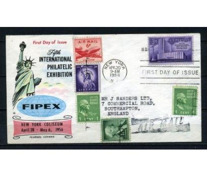 ABD 1956 PGZ  UÇAK POSTASI SÜPER (150515)