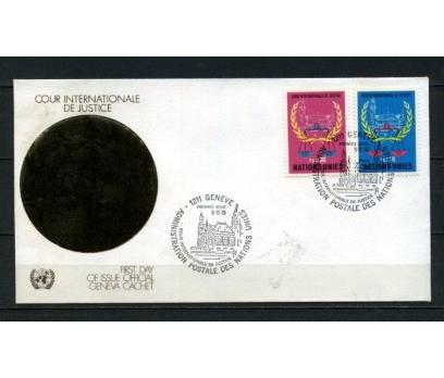 B.M.CENEVRE 1979 FDC U.ADALET DİVANI SÜPER(150515)