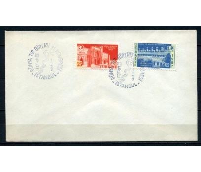 CUMH.FDC 1957 DÜNYA TIP BİRLİĞİ SÜPER (210515) 1