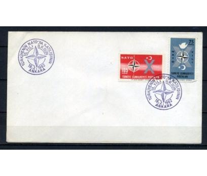 CUMH.FDC 1962 NATO 10.YIL SÜPER (210515)