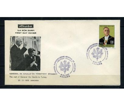 CUMH.FDC 1968 DE GAULLE AKOBA SÜPER (190515)