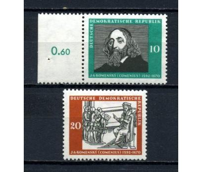 DDR ** 1958 COMENİUS TAM SERİ SÜPER (130515)