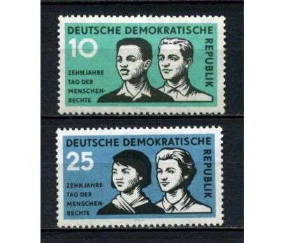 DDR ** 1958 GENÇLİK TAM SERİ SÜPER (130515)