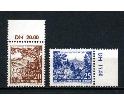 DDR ** 1961 MANZARALAR TAM SERİ SÜPER (160515)