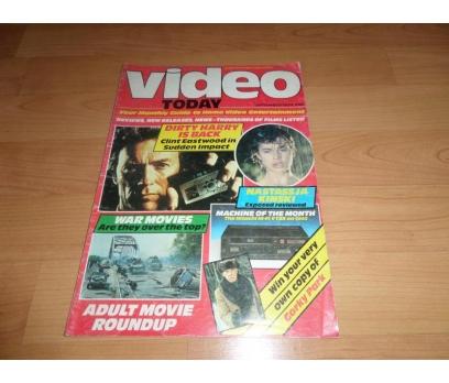 VİDEO TODAY SEPTEMBER.1984 YABANCI SİNEMA DERGİSİ