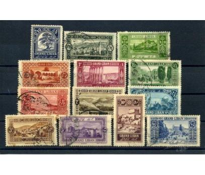 LÜBNAN  DAMGALI 1925 TURİZM TAM SERİ SÜPER(010615)