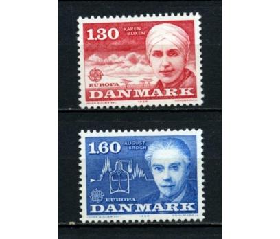 DANİMARKA ** 1980 EUROPA CEPT TAM SERİ(110615)