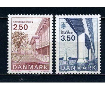 DANİMARKA ** 1983 EUROPA CEPT TAM SERİ(120615)