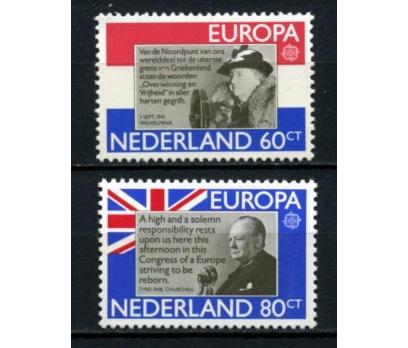 HOLLANDA ** 1980 EUROPA CEPT TAM SERİ(110615)