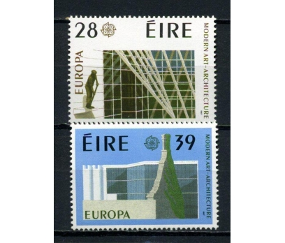 İRLANDA ** 1987 EUROPA CEPT TAM SERİ (220615)
