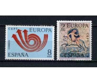 İSPANYA ** 1973 EUROPA CEPT TAM SERİ(100615)