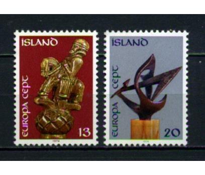 İZLANDA ** 1974 EUROPA CEPT TAM SERİ(100615)
