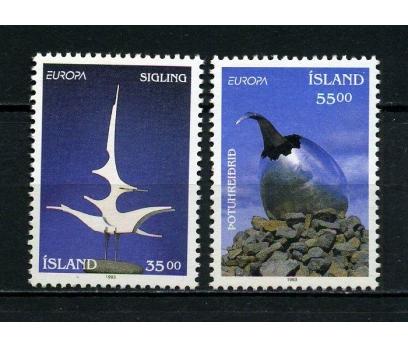 İZLANDA ** 1993 EUROPA CEPT TAM SERİ (260615)