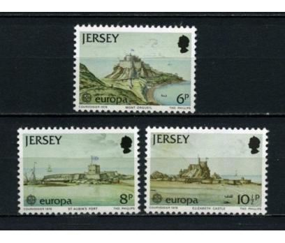 JERSEY ** 1978 EUROPA CEPT TAM SERİ(100615)