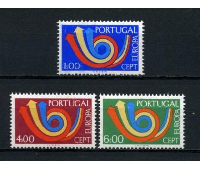 PORTEKİZ ** 1973 EUROPA CEPT TAM SERİ(100615)
