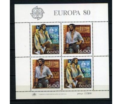 PORTEKİZ ** 1980 EUROPA CEPT BLOK (110615)