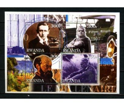 RUANDA ** 2001 HENRY FORD VD.1901'LER BLOK(060615)