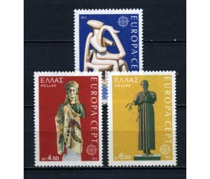 YUNANİSTAN ** 1974 EUROPA CEPT TAM SERİ(100615)