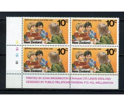 Y.ZELANDA ** 1979 D.ÇOCUK YILI DBL TAM S. (140615)