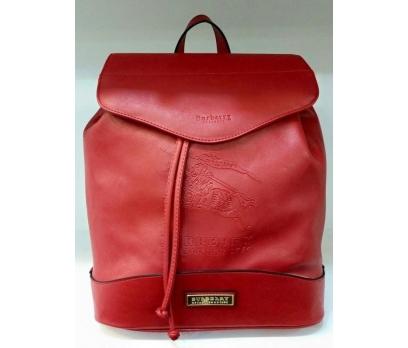 burberry kırmızı özel sırt çantası bir adet