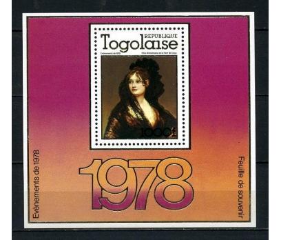 TOGO ** 1978 TABLO & GOYA BLOK SÜPER (140715)