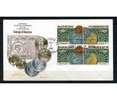 ABD 1975 FDC AMERİKAN BANKASI 100.YIL (220715)