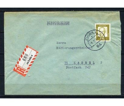 ALMANYA 1966 PGZ OPPENHEİMER  TEK PULLA T (250715)