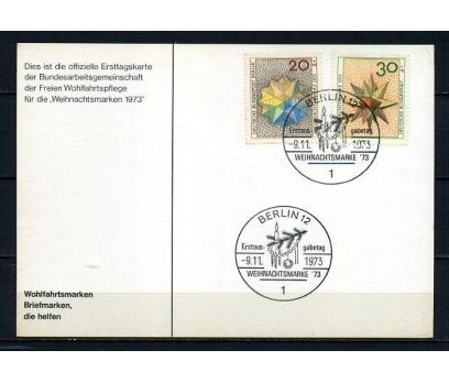 ALMANYA & BERLİN HATIRA KART1973 CHRISTMAS(250715)