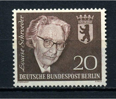 BERLİN ** 1961 L.SCHROEDER  4.Ö.Y. TAM S.(010815)