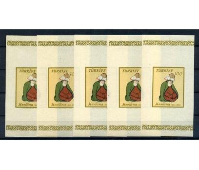 CUMHURİYET**1957 MEVLANA D.750.YILI 5 BLOK(150715)