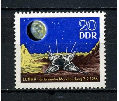 DDR  ** 1966 LUNA 9 İLE AYA İNİŞ TAM SERİ (180715)