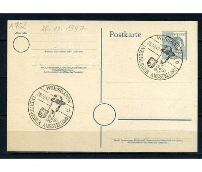 D.POST 1947 ANTİYE WIESBADEN Ö.DAMGALI(270715)