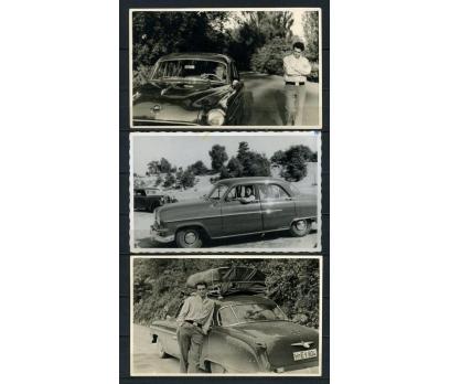 FOTOĞRAF 1950'LER OTOMOBİL T. 3 ADET (260715)