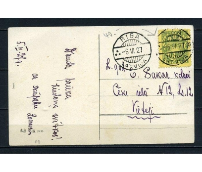 LETONYA 1927  KP CHRISTMAS TEMALI RİGA DAM(260715)