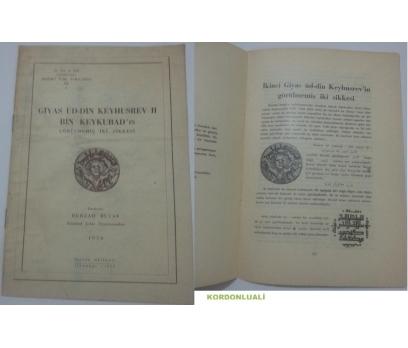 GİYAS ÜD-DİN KEYHUSREV II BİN KEYKUBAD'IN GÖRÜLMEMİŞ İKİ SİKKESİ 1950
