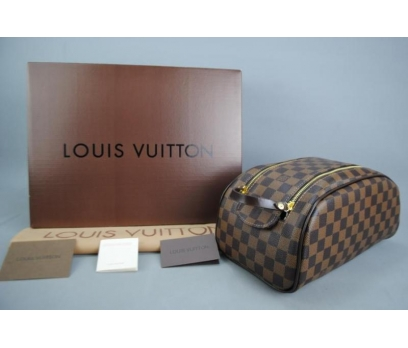 LOUIS VUITTON DAMİER CANVAS KİNG SİZE TOİLETRY BAG