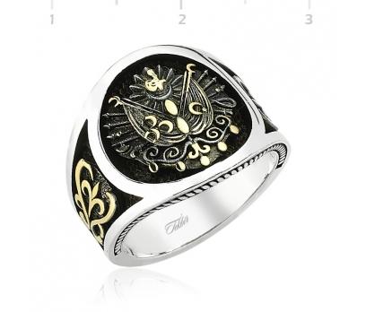Osmanlı Devlet Armalı Gümüş Yüzük