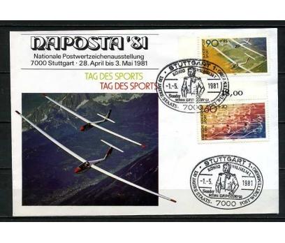 ALMANYA 1981 FDC SPOR TEMALI SÜPER (060915)